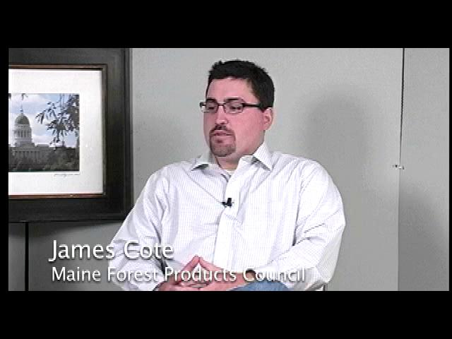 James Cote, Maine Forest Products Council