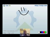 thumbnail for vbox and hbox Layouts Screencast on Sencha Learn