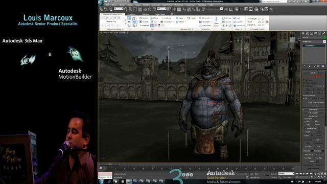 Autodesk 3ds Max 2011 & MotionBuilder 2011 by Louis Marcoux.