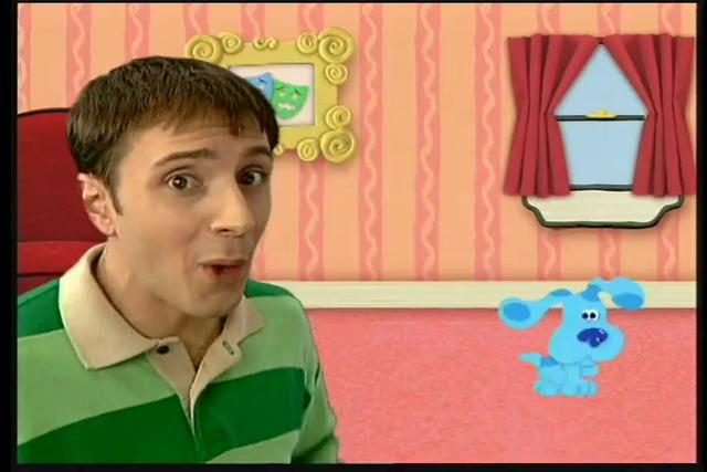 Nickelodeon blue s clues video letter on vimeo