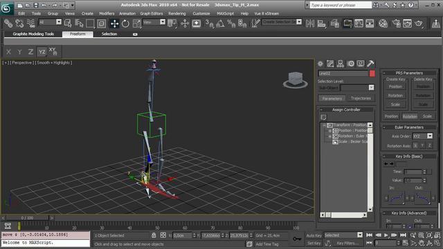 Creating a basic character Rig - 3D Studio Max 2010