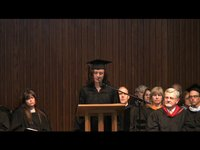 Beth Sturman, valedictory address