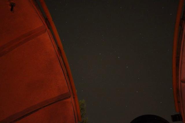 Timelapse Noche en el Observatorio de Castelldefels