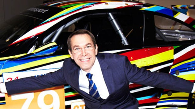 Video: Jeff Koons on the BMW Art Car