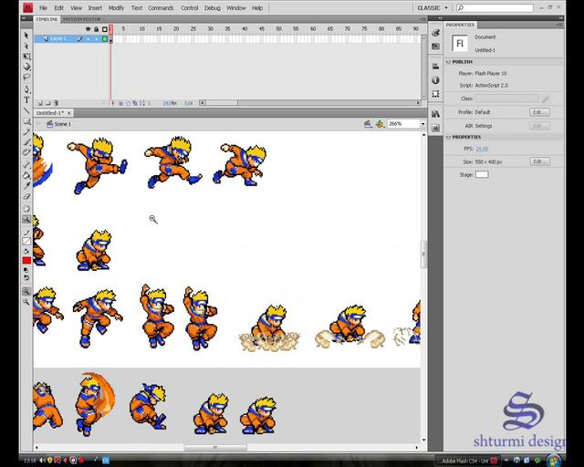 Flash Sprite Animation Tutorial