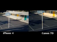 Canon 7D vs iPhone4