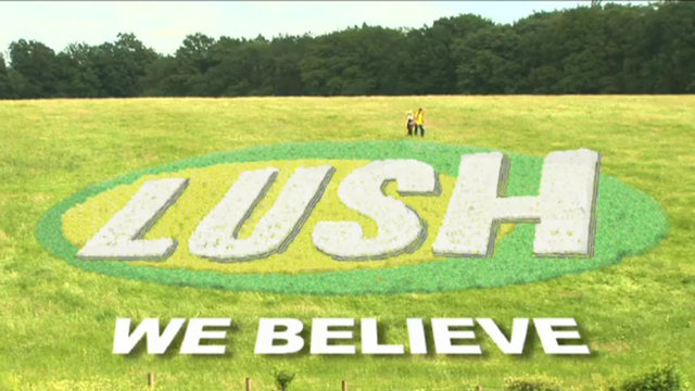 Lush Cosmetics - A Lush Life, We Believe