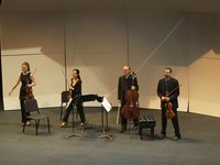 Chiara Quartet plays Brahms (excerpt)