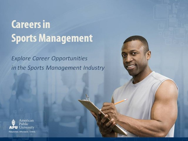 careers in sports management webcast on vimeo