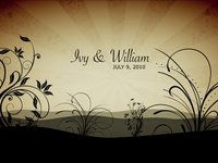 Ivy & William's photomontage