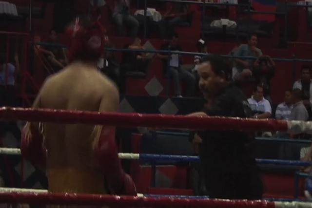 Eduardo Basurto, Muay Thai amateur debut
