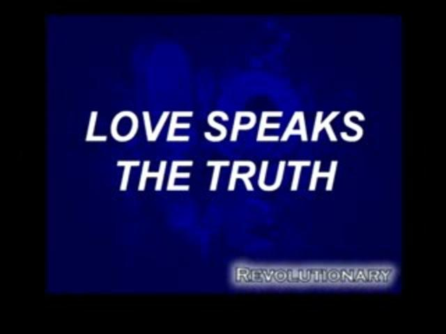 speaking truth about love