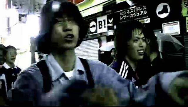 "呂布 / FREESTYLE RAP at SHIBUYA - FIFA Worldcup Japan vs Paraguay ""NAKAYAMA POWER"" - SLEEPERS FILM"