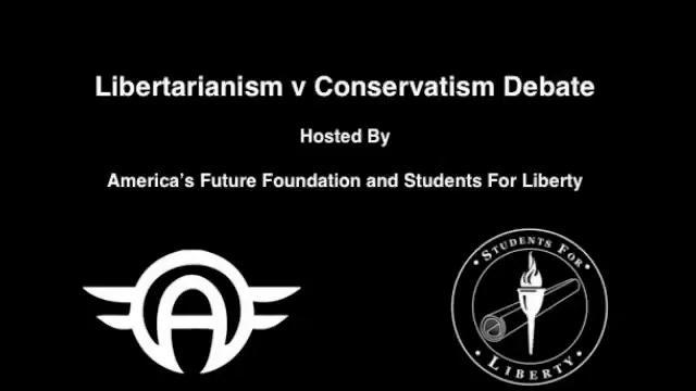 Libertarianism v Conservatism Debate