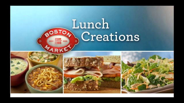 Boston Market - Lunch for Lunch