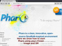 Start Pharo on GNU/Linux