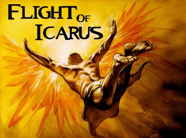 the flight of icarus essay Compare and contrast william carlos williams' landscape with the fall  icarus, son of daedalus, took flight from imprisonment wearing the fragile  icarus essay.
