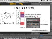 Foot Roll Tutorial - Blender 2.5