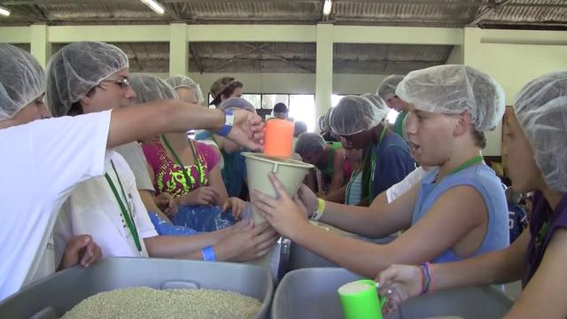 Food Packing Event - Youth Camp