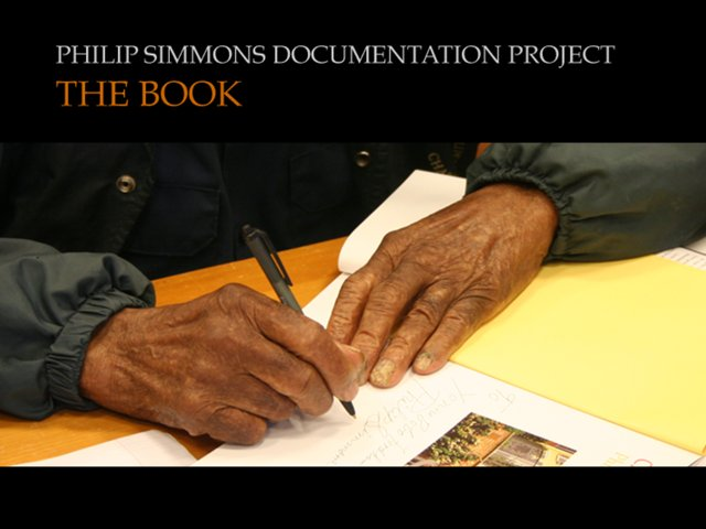 BOOK-Philip Simmons