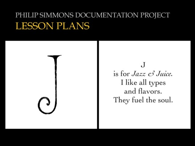 LESSON PLANS-Philip Simmons