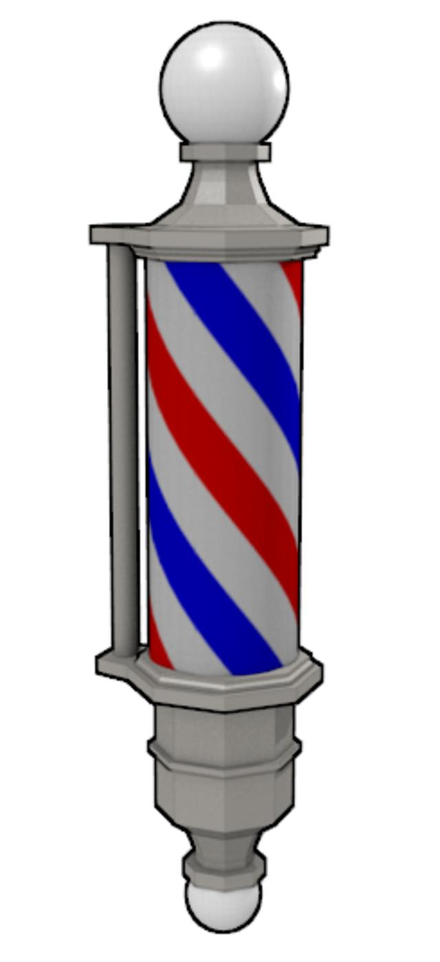 Animated Barber Pole Jean-Claude Risset  a French