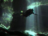 Immersione in Grotta 3d