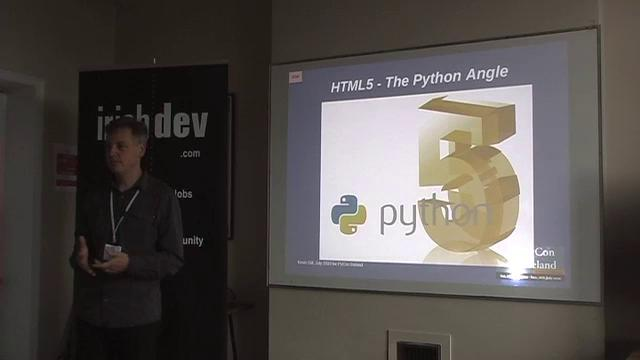 HTML5 - What is the Python angle (Kevin Gill)