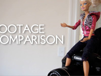 Canon 7D vs. Barbie Video Girl