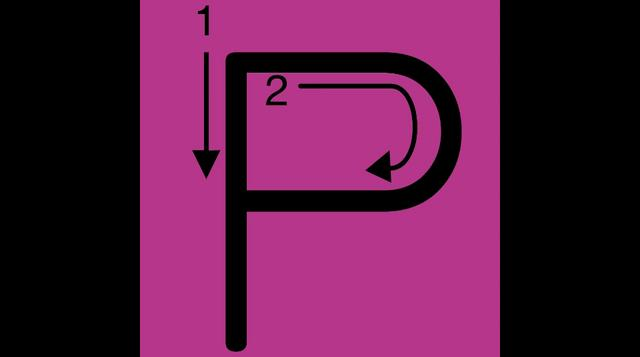 Letter P Video on Vimeo