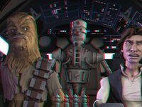 Star Wars The Solo Adventures 3D ANAGLYPH
