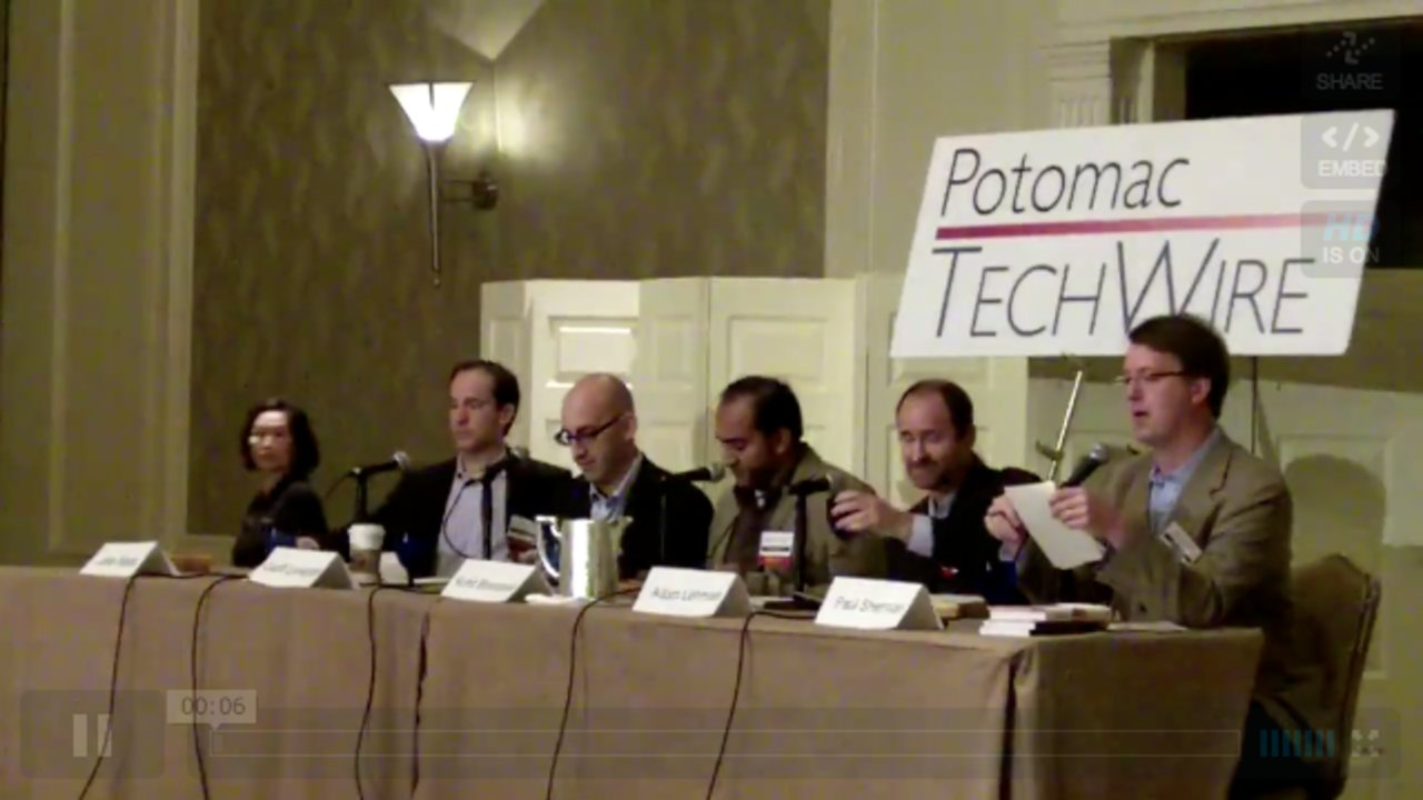 Potomac Tech Wire Social Media Panel