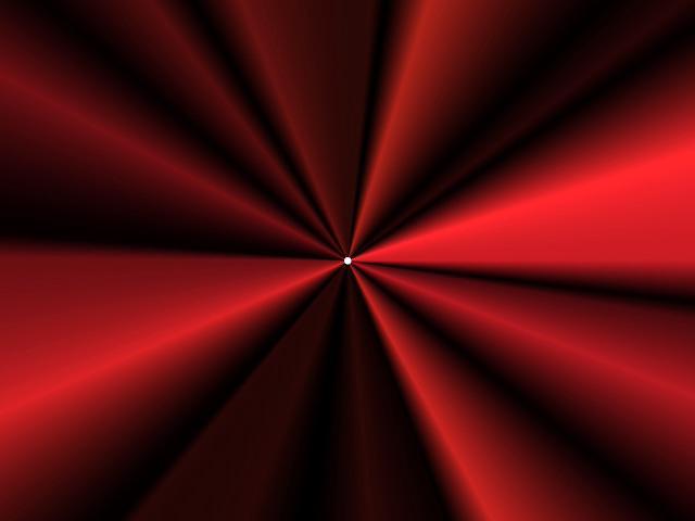 Red Satin Circle Trans...