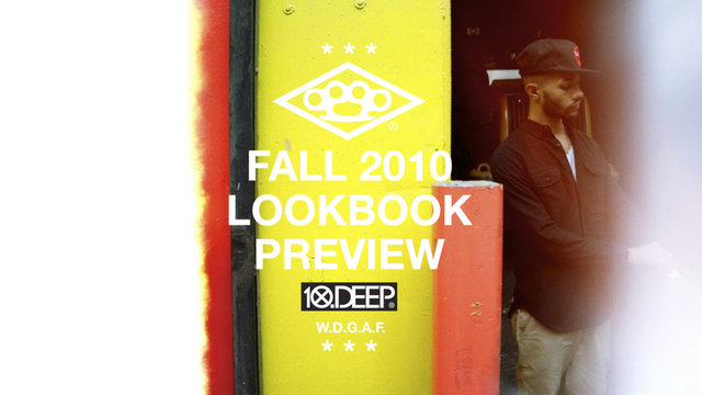 Video: 10.Deep Fall 2010 Lookbook Shoot Preview