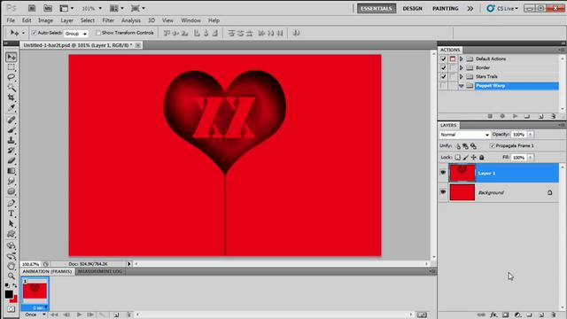 Quick Animation Effect in Photoshop CS5