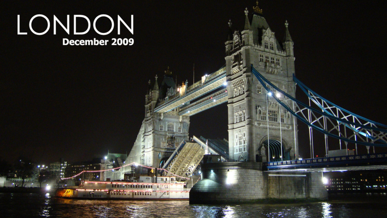 A short trip to London on Vimeo