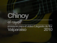 CHINOY EL RAYO / UN ENSAYO PARA LLEGASTE DE FLOR