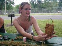 Basket Weaving w Tammie