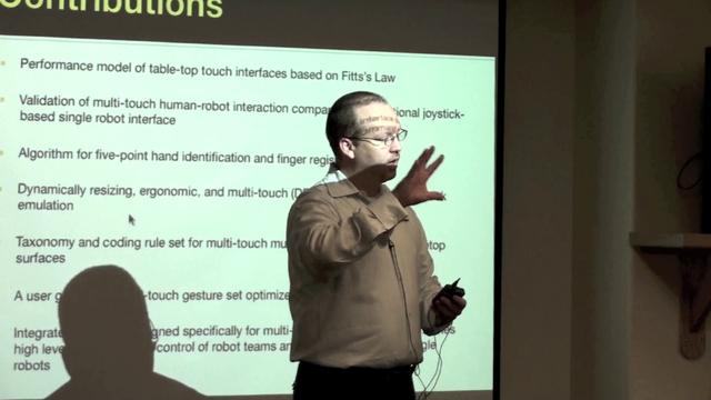 Mark Micire PhD Dissertation Defense Part 2 of 2 (Questions and Answers)