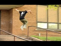 """Josh Ulrichsen from Little Chute Wisconsin.  Scribe Wheels 2010   Song: Kid Cudi- Simple As  *For more of Josh Check the upcoming online video """"Gotta Dolla"""" By Wilson Robinson and Isiah England. (available for viewing online Fall 2010)"""