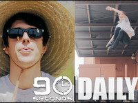 When we started listing skaters we wanted to feature a 90 Second Edit with - Ryan Daily was one of the first names that came up.  Ryan has a style all of his own.  His humble demeanor makes you appreciate his skating even more.  He skates fast, an...