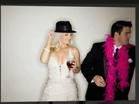 Photo Booth for Weddings by Nicole Caldwell