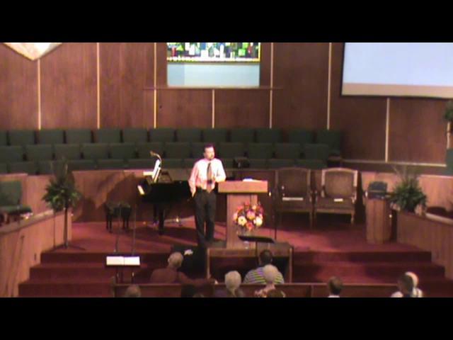 Still image of 8-29-2010 sermon