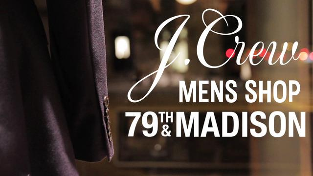 Video | J.Crew Upper East Side Mens Shop
