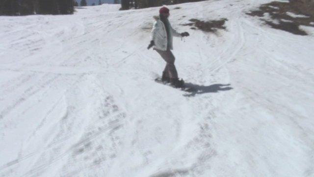 Green Snowboarding Adventure in HD