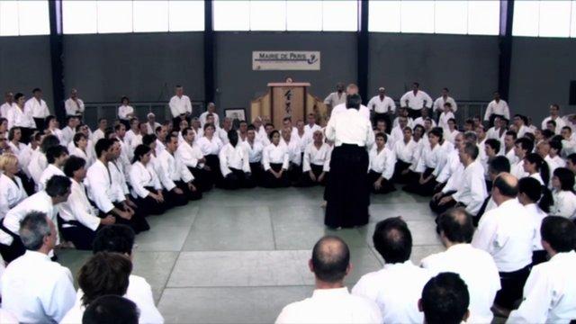 TAMURA Nobuyoshi Shihan Stage Aikido