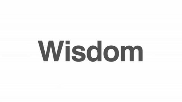 Wisdom - Introduction