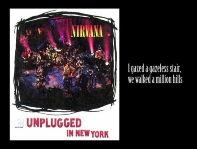 Nirvana the man who sold the world with lyrics