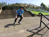 Rampworx local Andy Gilbert is the latest addition to the Rollerblade UK team.   The objective, 1 minute 1 spot. Everton Valley rails in Liverpool. A lot of people said Andy couldn't skate street...well, just watch.  Filmed & Edited by Matt Dearde...
