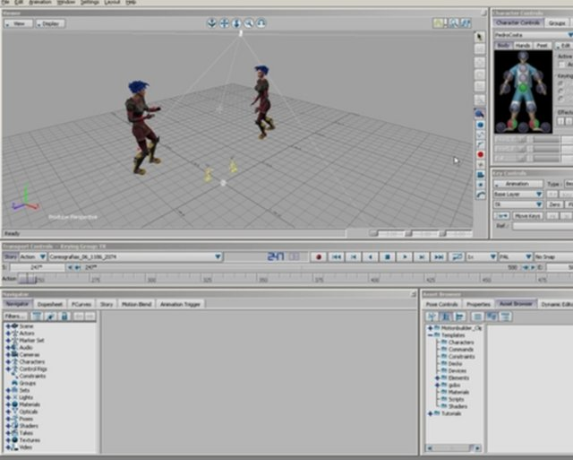 Motion Capture Pipeline - Motionbuilder to 3DS Max